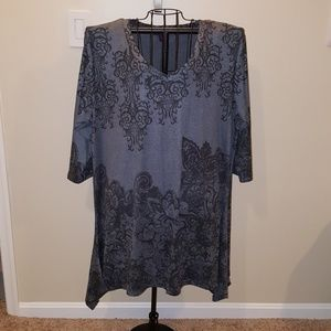 Hi-Lo Hem Tunic/Dress